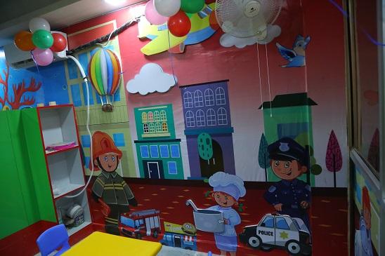 Interior of Indirapuram Preschool