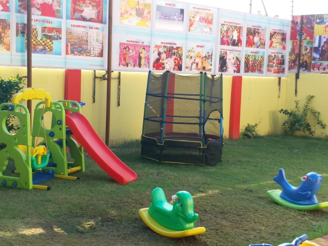 Gurukul Noida Sector 116 interior play ground